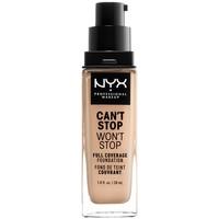 Beauté Femme Fonds de teint & Bases Nyx Can't Stop Won't Stop Full Coverage Foundation vanilla 30 ml