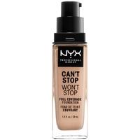 Beauté Femme Fonds de teint & Bases Nyx Can't Stop Won't Stop Full Coverage Foundation light  30 ml