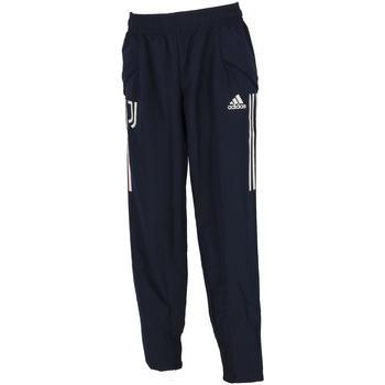 Vêtements Garçon Pantalons adidas Originals Juventus pant  jr 2020.21 Bleu marine / bleu nuit