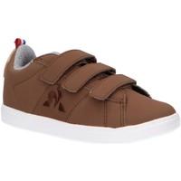Chaussures Enfant Multisport Le Coq Sportif 2010090 COURTCLASSIC Marr?n