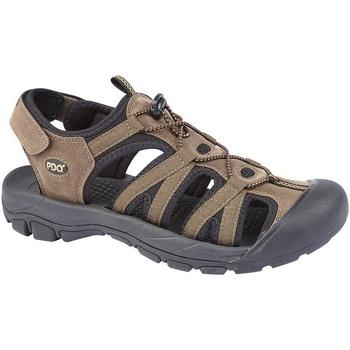 Chaussures Homme Sandales et Nu-pieds Pdq  Marron