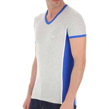 Vêtements Homme T-shirts & Polos Ea7 Emporio Armani Tee-shirt EA7 Gris