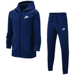 Vêtements Enfant Ensembles de survêtement Nike Ensemble de Bleu
