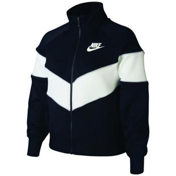 Vêtements Enfant Vestes de survêtement Nike Veste de Noir