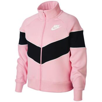Vêtements Enfant Vestes de survêtement Nike Veste de Rose