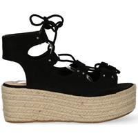 Chaussures Femme Sandales et Nu-pieds Luna Collection 51195 Noir