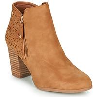 Chaussures Femme Bottines Xti  Cognac