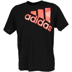 Vêtements Homme Polos manches courtes adidas Originals Tky oly bos blk mc tee Noir