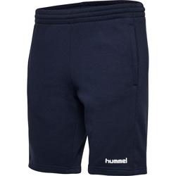 Vêtements Femme Shorts / Bermudas Hummel Short femme  hmlgo cotton bleu marine