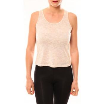 Vêtements Femme T-shirts & Polos Meisïe Débardeur 50-502SP15 Beige Beige
