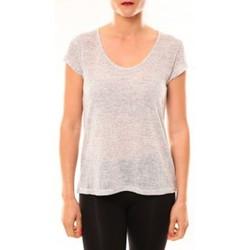 T-shirts manches courtes Meisïe T-Shirt 50-606SP15 Gris clair