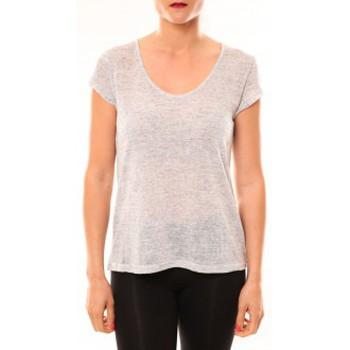 Vêtements Femme T-shirts manches courtes Meisïe T-Shirt 50-606SP15 Gris clair Gris