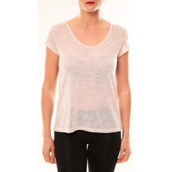 T-shirts manches courtes Meisïe T-Shirt 50-606SP15 Rose