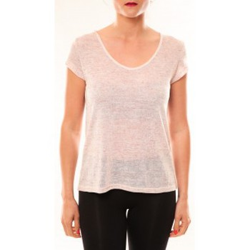 T-shirt Meisïe T-Shirt 50-606SP15 Rose
