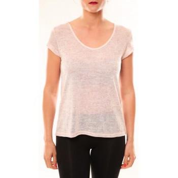 Vêtements Femme T-shirts manches courtes Meisïe T-Shirt 50-606SP15 Rose Rose