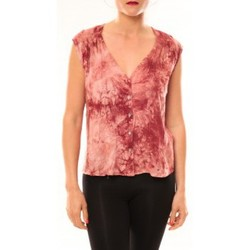 Débardeurs / T-shirts sans manche Meisïe Top 50-504SP15 Rose