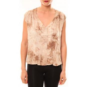 Débardeurs / T-shirts sans manche Meisïe Top 50-504SP15 Beige