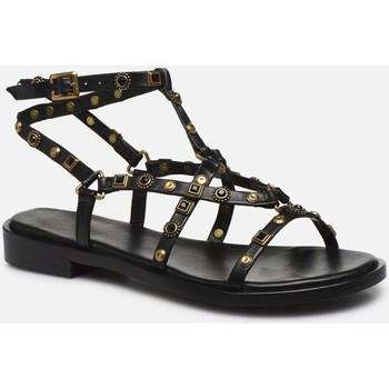 Chaussures Femme Sandales et Nu-pieds Bronx 84820 noir