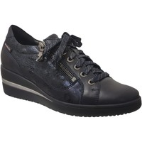 Chaussures Femme Derbies Mobils By Mephisto Patsy Marine cuir