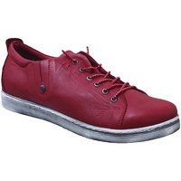 Chaussures Femme Derbies Andrea Conti 0348736 sneaker Rouge cuir