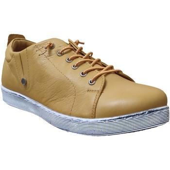 Chaussures Femme Derbies Andrea Conti 0348736 sneaker Jaune cuir