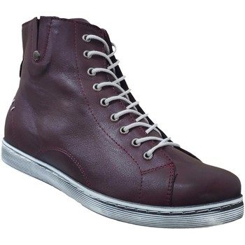 Chaussures Femme Boots Andrea Conti 0027913 baskets Prune cuir