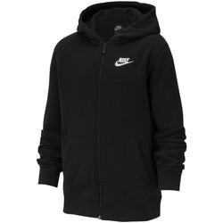 Vêtements Fille Sweats Nike Veste Sportswear noir