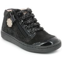 Chaussures Fille Baskets montantes Aster Souzi NOIR