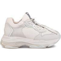 Chaussures Femme Baskets mode Bronx 66167 blanc/gris