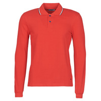 Vêtements Homme Polos manches longues Casual Attitude LOUNALI Rouge