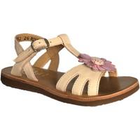 Chaussures Fille Sandales et Nu-pieds Pom d'Api plagette spring rose