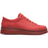 Chaussures Femme Baskets basses Camper Baskets à lacets cuir Runner Up rouge