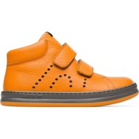 Chaussures Garçon Baskets montantes Camper Baskets cuir Runner Four orange
