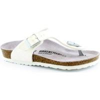 Chaussures Enfant Tongs Birkenstock BIR-RRR-1008165-WH Bianco