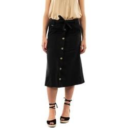 Vêtements Femme Jupes Street One midi cargo l72 10001 black noir