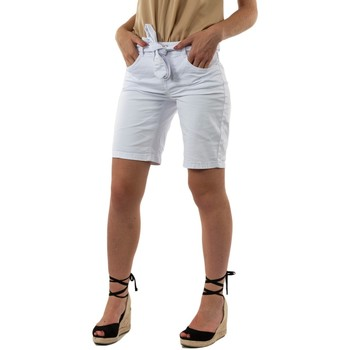 Vêtements Femme Shorts / Bermudas Street One 373267 10000 white blanc