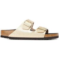 Chaussures Femme Mules Birkenstock Sandale Or