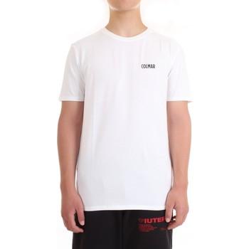 Vêtements Homme T-shirts manches courtes Colmar 7507 T-Shirt/Polo homme blanc blanc