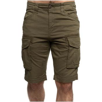 Vêtements Homme Shorts / Bermudas Shilton Bermuda cargo poches SAFARI Vert