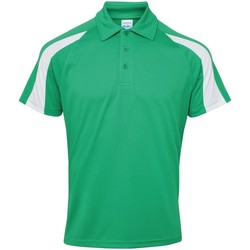 Vêtements Homme Polos manches courtes Awdis Contrast Vert tendre/Blanc arctique