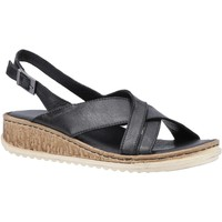Chaussures Femme Sandales et Nu-pieds Hush puppies  Noir