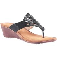 Chaussures Femme Sandales et Nu-pieds Divaz  Noir