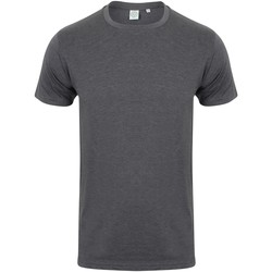 Vêtements Homme Musse & Cloud Skinni Fit Stretch Gris foncé chiné