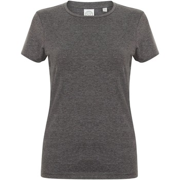 Vêtements Femme Musse & Cloud Skinni Fit Stretch Gris foncé chiné