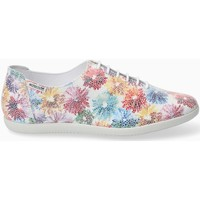 Chaussures Femme Baskets mode Mephisto Basket KATIE blanches Multicolore