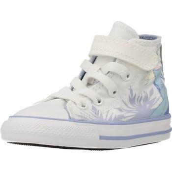Chaussures Fille Baskets montantes Converse CTAS 1V HI Blanc