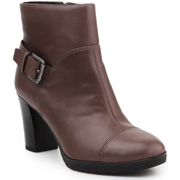 Chaussures Femme Boots Geox D Raphal Mid A D643WA-00043-C6029 brązowy