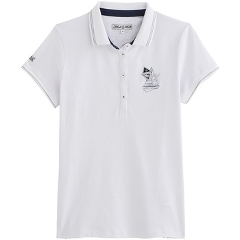 Vêtements Femme Polos manches courtes Black Wellis TIMELESS NAUTICAL Blanc