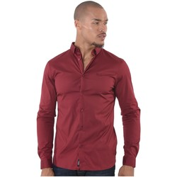 Vêtements Homme Chemises manches courtes Kaporal Chemise Manches Courtes Homme Duly Rouge