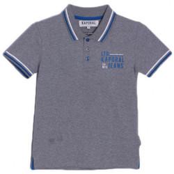 Vêtements Enfant T-shirts & Polos Kaporal Polo Garçon Arick Gris Gris